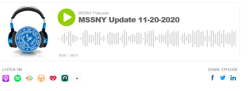 MSSNY Podcast 11 20 20